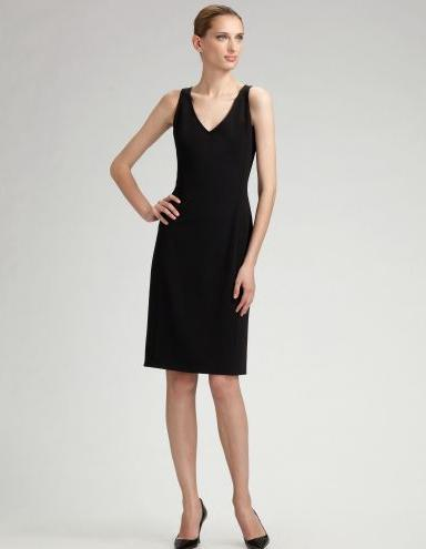 Piazza-Sempione-Shift-Black-Dress